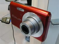 Casio Exilim EX-Z60 Red