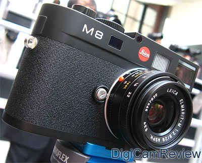 Leica M8 Rangefinder in Black
