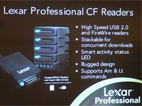 Lexar Pro Compact Flash Reader