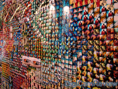Lomography Photowall