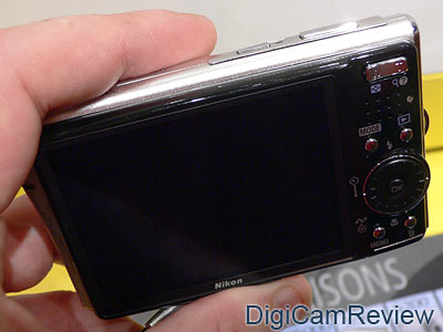 Nikon Coolpix S50c Back