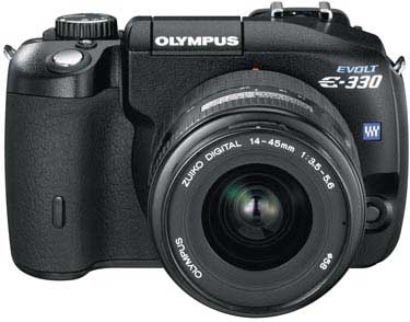 Olympus E-330 Front