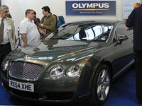 Olympus Win A Bentley