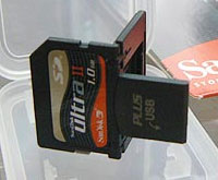 Sandisk SD Plus USB