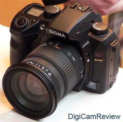 Sigma SD14 at Focus On Imaging 2007