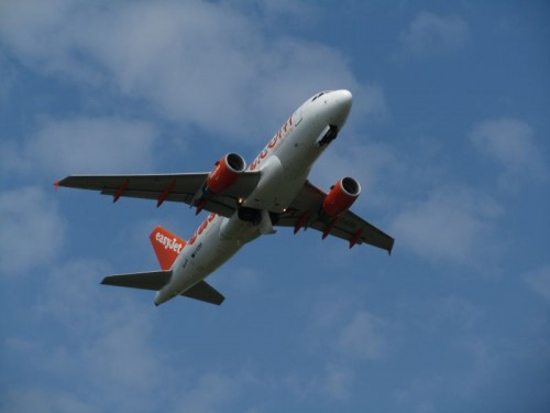 Easyjet Flight - 200mm Equiv.