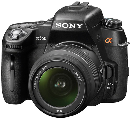 Sony Alpha A560 DSLR