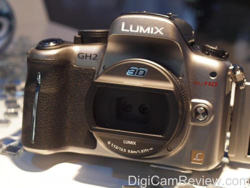 Panasonic GH2 with 3D Lens