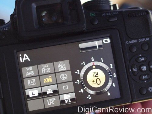 Panasonic Lumix GH2 Touchscreen Controls