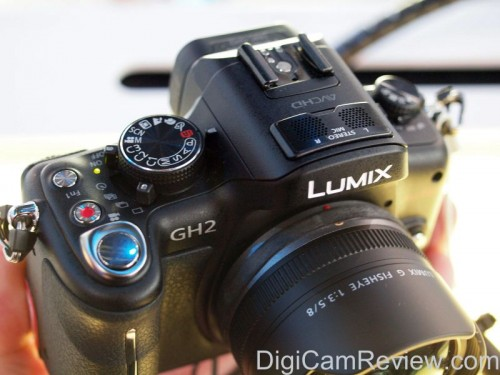 Panasonic GH2 Top