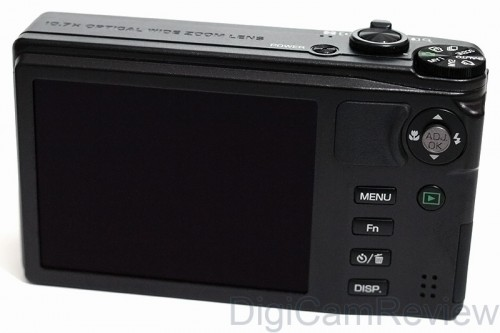 Ricoh CX4 Back