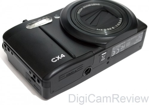 Ricoh CX4 Bottom