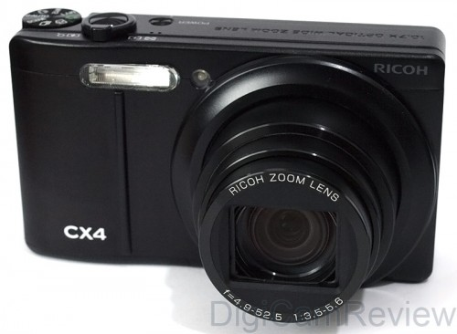 Ricoh CX4 - Front on