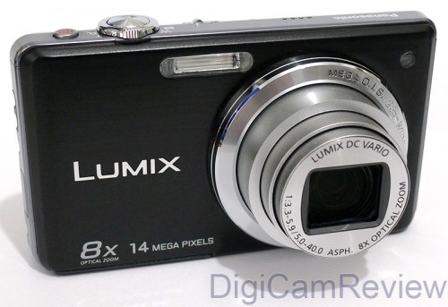 Panasonic Lumix FS33 Front On