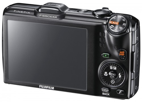 Fujifilm FinePix F550 Back