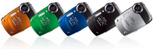 Fujifilm FinePix XP30 Colours