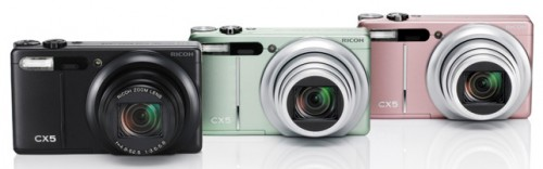 Ricoh CX5 Colours