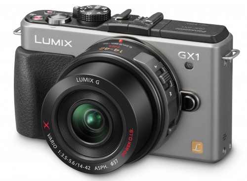 Panasonic Lumix GX1 Silver Large
