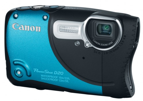Canon Powershot D20 Waterproof