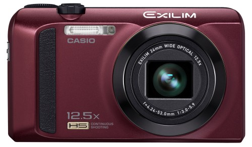 Casio Exilim ZR300 Red