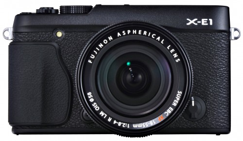 Fujifilm X-E1 Black with 18-55mm OIS lens
